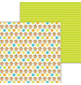 DOODLEBUG Doodlebug party time monkeying around double-sided cardstock