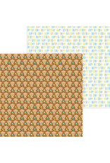DOODLEBUG Doodlebug party time playful puppies double-sided cardstock