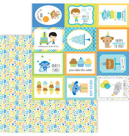 DOODLEBUG Doodlebug party time surprise! double-sided cardstock