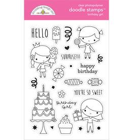 DOODLEBUG Doodlebug hey cupcake birthday girl doodle stamps