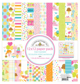 DOODLEBUG Doodlebug hey cupcake 12x12 paper pack