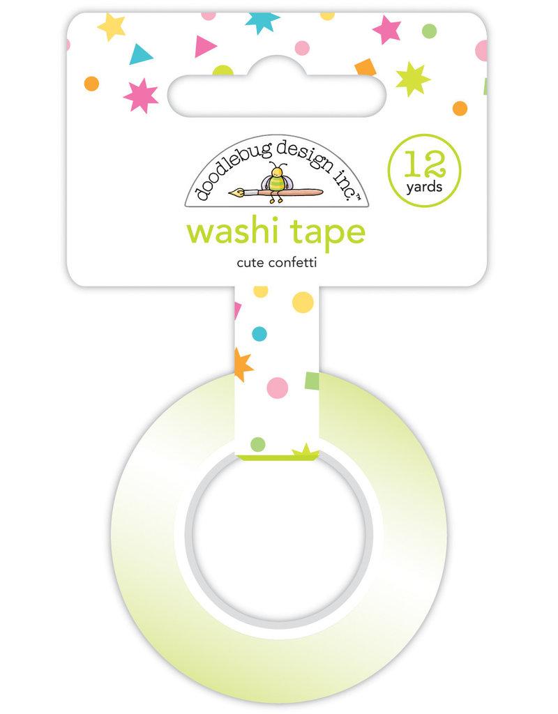 Doodlebug hey cupcake cute confetti washi tape