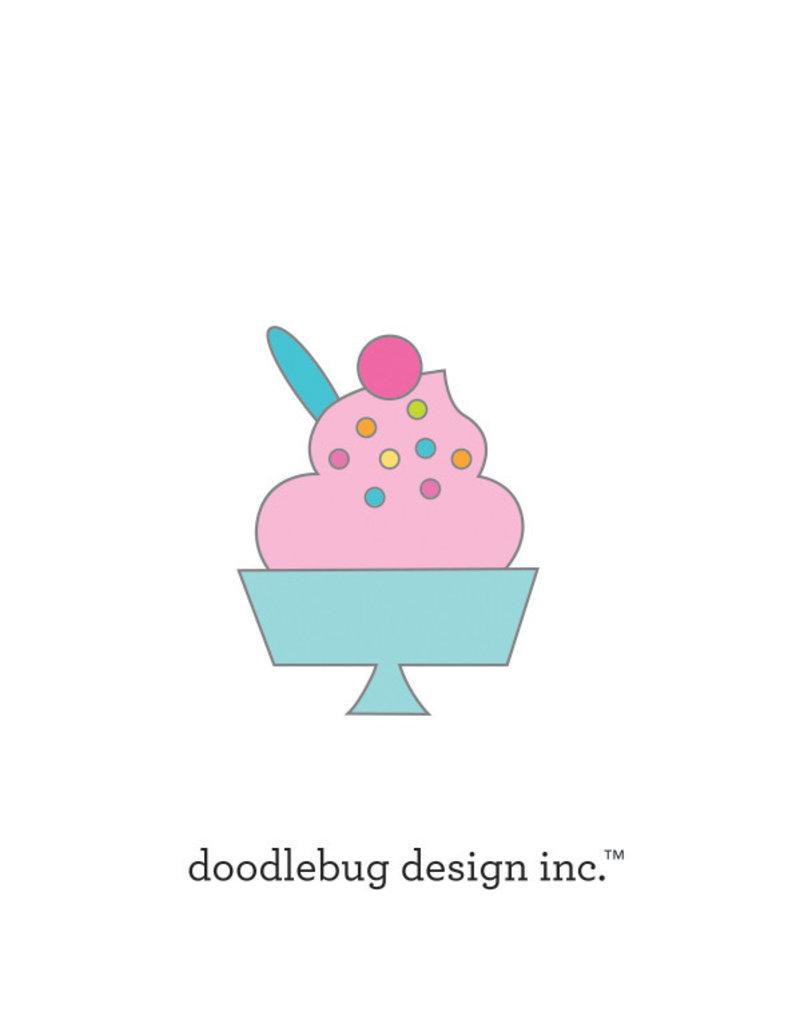 DOODLEBUG Doodlebug hey cupcake sweet sundae collectible pins
