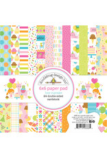 DOODLEBUG Doodlebug hey cupcake 6x6 paper pad