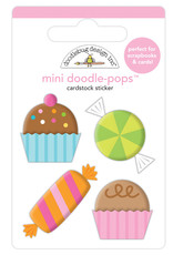 Doodlebug hey cupcake sweet celebration mini doodle-pops