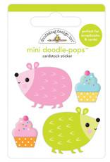 Doodlebug hey cupcake hedge hugs mini doodle-pops