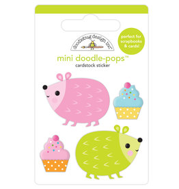 Doodlebug hey cupcake hedge hugs mini doodle-pops
