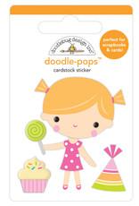 Doodlebug hey cupcake birthday girl doodle-pops