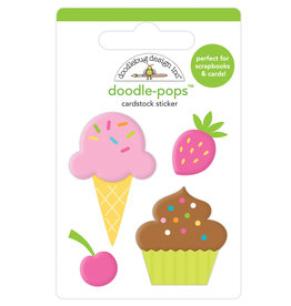 Doodlebug hey cupcake sweet treats doodle-pops