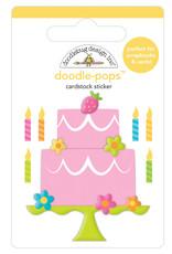 Doodlebug hey cupcake make a wish doodle-pops