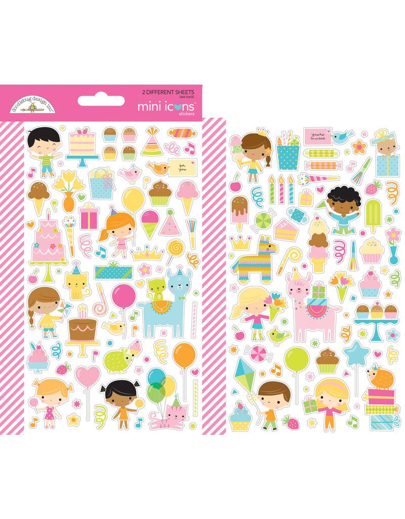 DOODLEBUG Doodlebug hey cupcake mini icons sticker