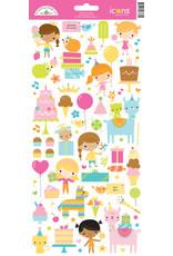 DOODLEBUG Doodlebug hey cupcake icons sticker