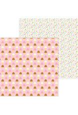 DOODLEBUG Doodlebug hey cupcake sugar cones double-sided cardstock