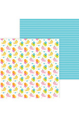 DOODLEBUG Doodlebug hey cupcake party purrrfect double-sided cardstock