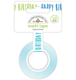 DOODLEBUG Doodlebug party time happy birthday washi tape