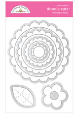 DOODLEBUG Doodlebug nesting scallops doodle cuts