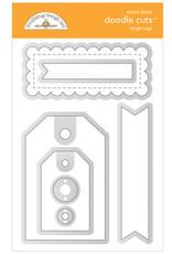 DOODLEBUG Doodlebug large tags doodle cuts