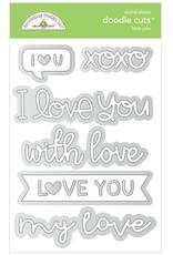 DOODLEBUG Doodlebug love you doodle cuts