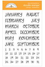 DOODLEBUG DoodleBug Stamp Calendar - Handwritten