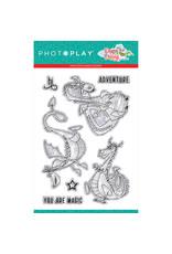 Photoplay PP Dragon Dreams 4x6 Stamp Dragons