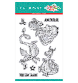 Photoplay PP Dragon Dreams 4x6 Stamp Dragons