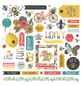 Photoplay PP Wild Honey Element Sticker