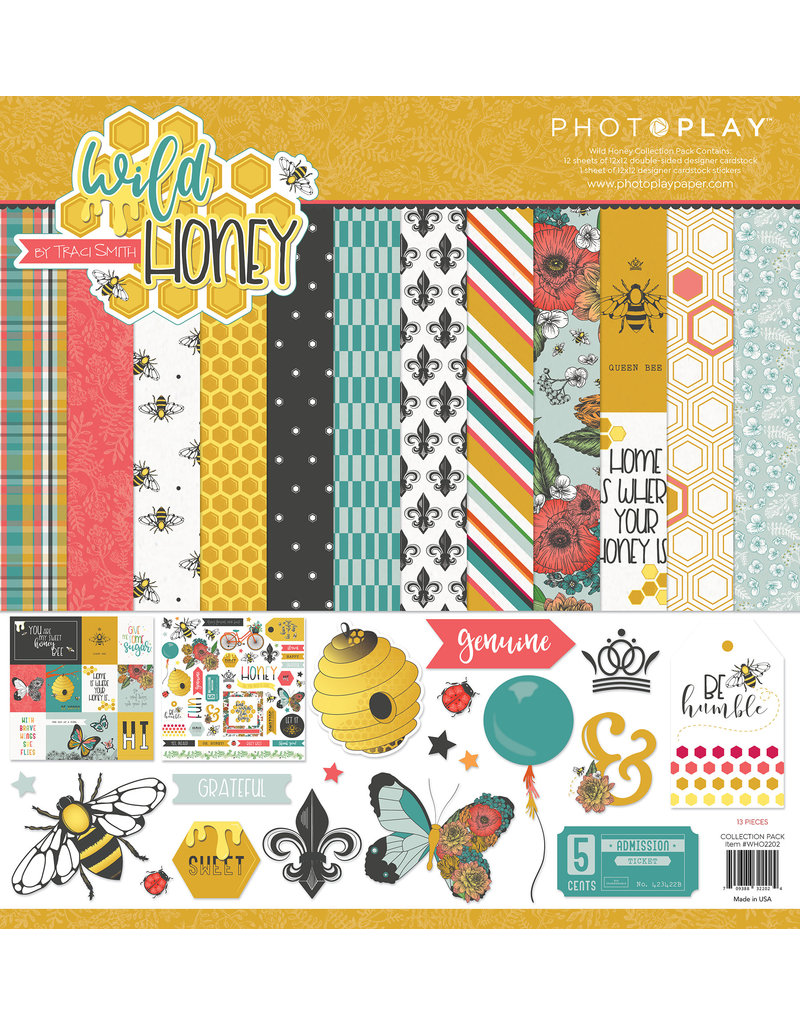 Photoplay PP Wild Honey Collection Pack