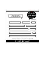 Photoplay PP Sentiment Strips Die Set
