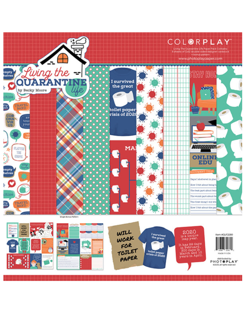 Photoplay CP Living the Quarantine Life Paper Pack