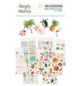 simple stories Simple Vintage Coastal : 4x6 Sticker Book