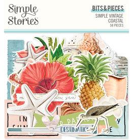 simple stories SS SV Coastal : Bits & Pieces