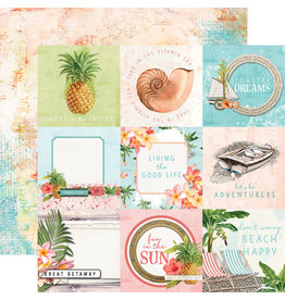 simple stories SS SV Coastal Paper: 4x4 Elements