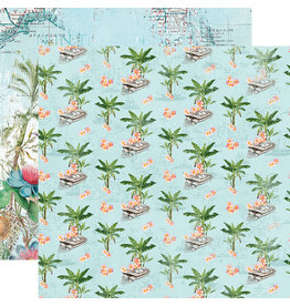 simple stories SS SV Coastal Paper: Tropical Life
