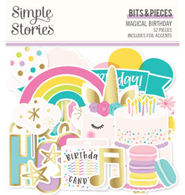 simple stories SS Magical Birthday : Bits & Pieces