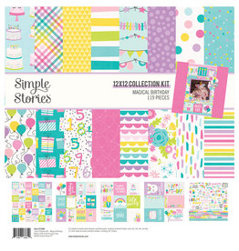 simple stories SS Magical Birthday : Collection Kit