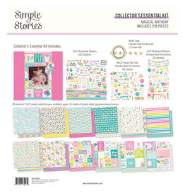simple stories SS Magical Birthday : Collector's Essential Kit