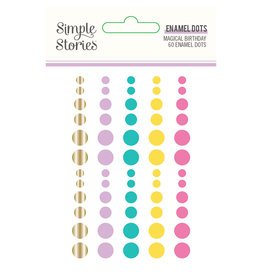 simple stories SS Magical Birthday : Enamel Dots