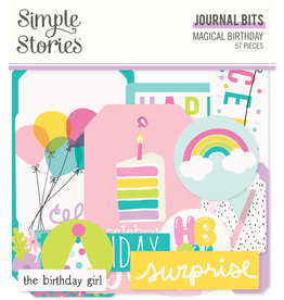 simple stories SS Magical Birthday : Journal Bits & Pieces