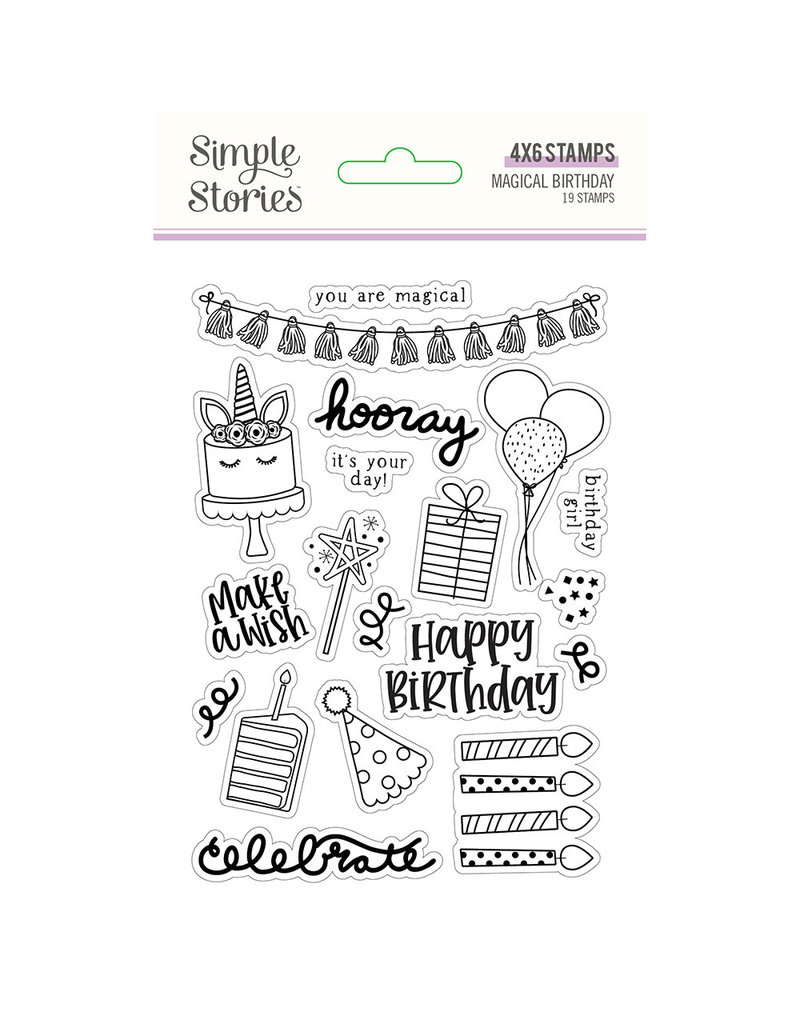 simple stories SS Magical Birthday : Stamps