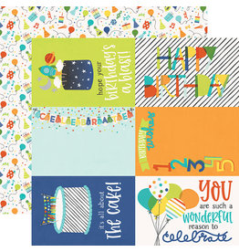 simple stories SS Birthday Blast Paper: 4x6 Elements