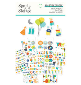 simple stories SS Birthday Blast: 4x6 Sticker Book