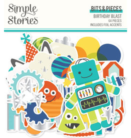 simple stories SS Birthday Blast: Bits & Pieces