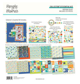 simple stories SS Birthday Blast: Collector's Essential Kit