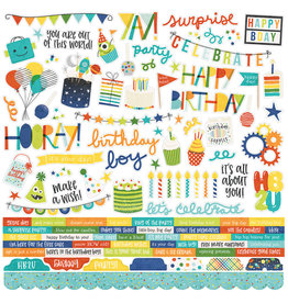 simple stories SS Birthday Blast: Combo Sticker
