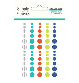 simple stories SS Birthday Blast: Enamel Dots