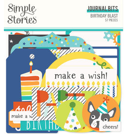 simple stories SS Birthday Blast: Journal Bits & Pieces