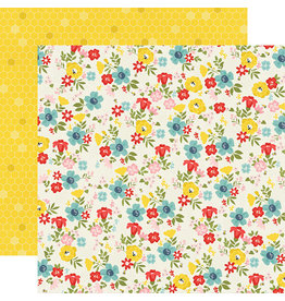 simple stories SS Summer Farmhouse Paper: Sunny Day