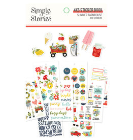 simple stories SS Summer Farmhouse: 4x6 Sticker Book
