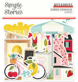 simple stories SS Summer Farmhouse: Bits & Pieces