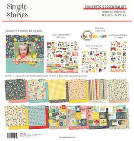 simple stories SS Summer Farmhouse: Collector's Essential Kit